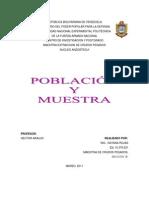 Población y Muestra.ROJAS DAYANA