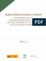 Sierra Aznar ¿castellum aquae o caput aquae?