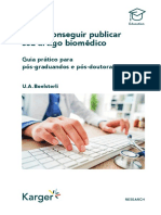 Como Conseguir Publicar Seu Artigo Biomédico
