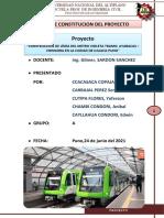 ACTA DE  CONSTITUCION DEL PROYECTO GRUPO 2 SEGUNDA EDICION