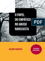 O Papel do empático no abuso narcisista