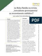 2011_o Programa Bolsa Familia Em Veja