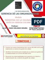 GERENCIA DE LA CALIDAD-ISO 9000-SESIÓN 3-4