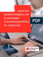 Aspectos epidemiológicos de la patología musculoesquelética en urgencias