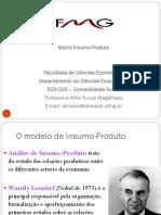 Aula 7 - Matriz de insumo-produto