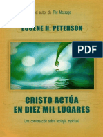 Cristo Actúa en Diez Mil Lugares - E.Peterson