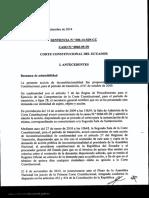 OPTOMETRIA EN EL ECUADOR 006-14-SIN-CC