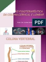 Aula Coluna Lombar e Cervical