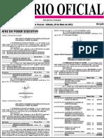 Diario Oficial 29-05-2021