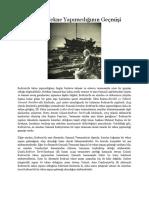 Bodrum'da Tekne Yapımcılığının Geçmişi