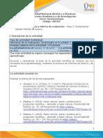 Guía de Actividades y Rúbrica de Evaluación - Unidad 1 - Fase 2 - Fundamentar