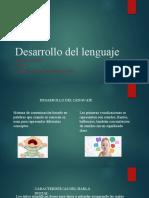 Desarrollo de el lenguaje