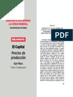 4 Marx El capital T 3 seleccion, precios de producción
