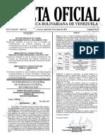 Gaceta Oficial N°42.155