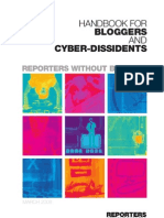 Handbook for Bloggers and Cyber- Dissidents