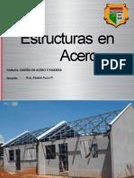 2 DIAPOSITIVAS DISEÑO ACERO Y MADERA. - ESTRUCTURAS EN ACERO
