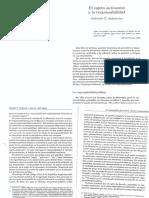 Salomone - El Sujeto Autonomo y La Responsabilidad. en La Transmision de La Etica. Clinica y Deontologia