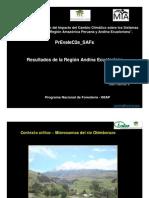 Evaluacion de Impacto de Cambio Climatico en Sistemas Agroforestaeles - Ecuador