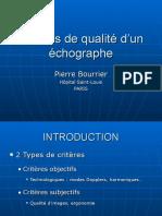 2015tc-Criteres de Qualite d Un Echographe