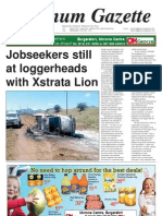 Platinum Gazette 25 March 2011