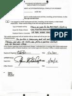 Colorado 2011 Cabinet director disclosures
