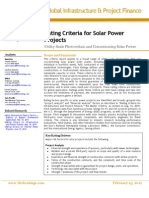 Fitch - Solar Power Criteria