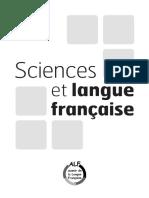 Document Sciences Et Langue Francaise Avril-2013
