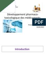 1-developpement  des médicaments