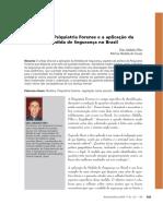 Artigo - Bioética e Psiquiatria Forense