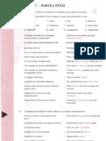 Engleza pentru nivel intermediar - Lectia 17-18