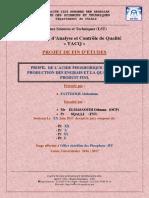 RAPPORT FINL PROFILE D ACIDE LST TACQ PDF