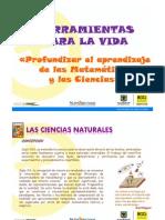 PRESENTACION CIENCIA Y TECNOLOGÍA CICLOS 2011