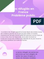 PPT Les réfugiés en France Problème public