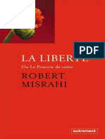 Robert Misrahi - La liberté ou Le pouvoir de créer-Editions Autrement (2015)