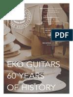 Eko Catalogue 2019 - eko guitar