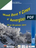 Mont Dore Y Cimes  - Compte Rendu Personnel