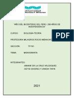 Monografia Biologia A