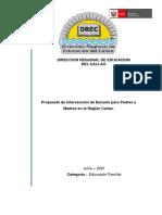 PRYTO. ESCUELA REGIONAL DE PADRES Y MADRES EN EL CALLAO (1)