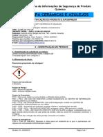 FISPQ-Azulin Limpa Vidros