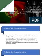 Impactos económicos, culturais e sociais dos fluxos