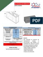 373741180 Ficha Tecnica Block Hueco de Concreto 15x20x40 Linea Estructural Nmx c 404