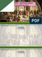 Aula Revisão Filosofia ENEM 2021 (13.01.2021)