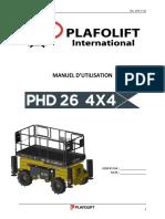 Manuel d Utilisation Ph26 Diesel 2018-11-05