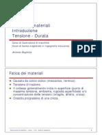 fatica 1 - introduzione - tensione-durata v2.0