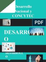 Desarrollo Nacional y CONCYTEC