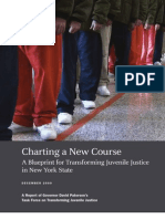 Charting a New Course a Blueprint for Transforming Juvenile Justice in New York State