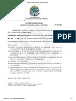 Sistema de Emissão de Certidões Negativas da 1ª Região