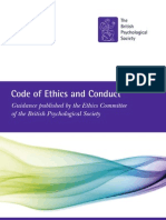 Code of Ethics & Conduct Aug 09