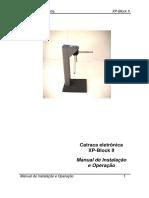 Manual Catraca XPblock II