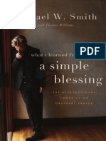 A Simple Blessing by Michael W. Smith, Excerpt